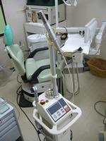 麻酔も無く、痛みの無い治療が可能なレーザー治療